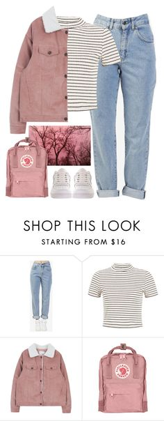 """Pink skies"" by brigi-bodoki ❤ liked on Polyvore featuring The Ragged Priest, Fjällräven and NIKE"