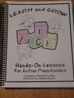 Learn and Grow Hands-On Lessons for Active Preschoolers - review by @Guiding Light Homeschool (& giveaway!)