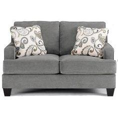 Nebraska Furniture Mart – Ashley Love Seat w/ Loose Seat Cushions