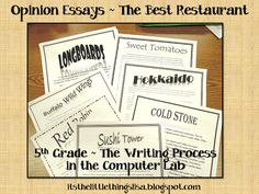 It's the little things...: Evaluation & Feedback ~ The Writing Process in 2nd and 5th Grade