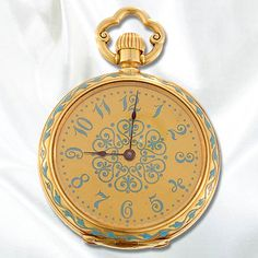 Ladies Baily, Banks & Biddle Open Face Pocket Watch - 70-1-210 - Lang Antiques .:!:.