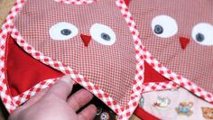 (9) Name: 'Sewing : Owl Potholders and Hotpad