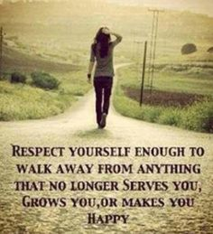 Just walk away
