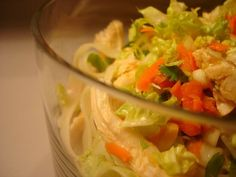 Almost-Summer Rice Noodle Salad