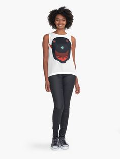 """""""Humor is angry with everyone"""" Contrast Tank by sabahi4u   Redbubble"""
