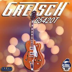 Boa tarde! Quer comprar uma guitarra elétrica? Venha experimentar as guitarras Gretsch.  Pode comprar esta guitarra aqui  http://www.salaomusical.com/pt/guitarras-eletricas/1123-guitarra-eletrica-gretsch-g5420t-org-electromatic-hollow-body.html