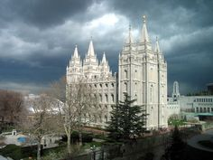 Salt Lake Utah Mormon Temple