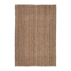 IKEA - LOHALS, Teppe, flatvevd, 160x230 cm, , Jute er et slitesterkt materiale med naturlige fargevariasjoner. Kan gjenvinnes.