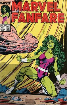 Marvel Fanfare # 48 by Kerry Gammill & José Marzan Jr.