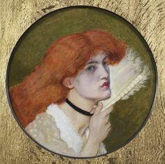 JANE MORRIS, by Dante Gabriele Rossetti
