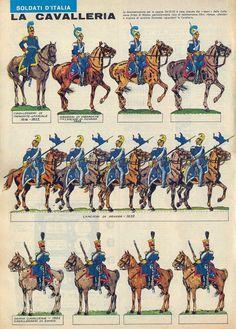 Corrierino e Giornalino: La cavalleria