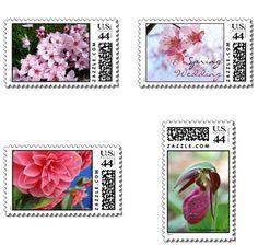USA wedding stamps