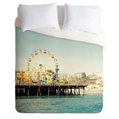 Bree Madden Pacific Wheel Duvet Cover | DENY Designs Home Accessories
