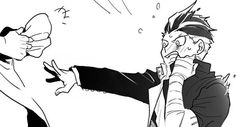 super danganronpa 2 / / May 2015 - pixiv Danganronpa Memes, Danganronpa Characters, Super Danganronpa, Manga, Gundham Tanaka, Otaku, Gifs, Dark Lord, Gundam