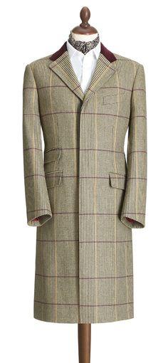 The Glen Check Covert Coat