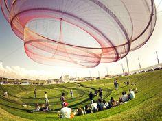 Воздушные инсталляции от Janet Echelman