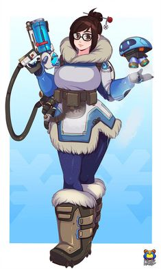 Mei fanart by on DeviantArt Overwatch Mei, Overwatch Comic, Overwatch Fan Art, Comic Manga, Manga Anime, Mei Ling Zhou, Overwatch Females, Overwatch Drawings, Video Game Art