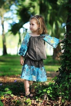 vintage kids clothing using upcycled fabrics