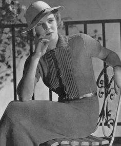 Vintage Knitting Pattern PDF of Minerva's by VintagePatternPlace