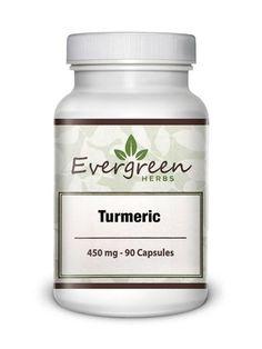 Turmeric (Curcurma) - 450 mg - 90 Capsules