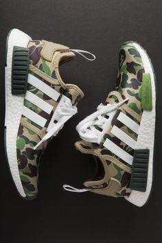 BAPE x ADIDAS NMD R1-DATA PREMIERY-1 Bape Shoes dafbff7673ea