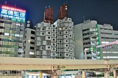 Japanese Metabolism was more than just an architectural movement: it was a lifestyle. Two young Portuguese architects, who currently reside in Kisho Kurokawa's Nakagin Capsule Tower, report on their daily life in one of the century's most iconic buildings Japanese Buildings, Japanese Architecture, Beautiful Architecture, Interior Architecture, Metabolist, Nakagin Capsule Tower, Kisho Kurokawa, Built Environment, What Is Like