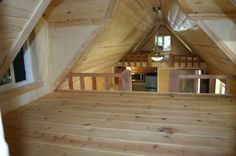 Two Loft Bedroom Tiny House | 17 Tiny Houses That Will Make You Swoon | Small House Ideas by Pioneer Settler at http://pioneersettler.com/tiny-houses/