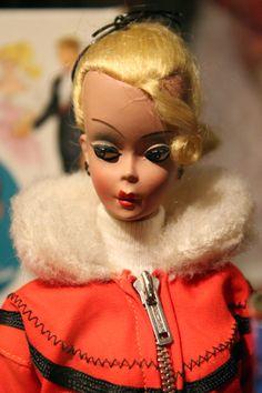 Bild Lilli (the german grandmother for american Barbie). Suomenlinna Toy Museum, Helsinki, Finland.