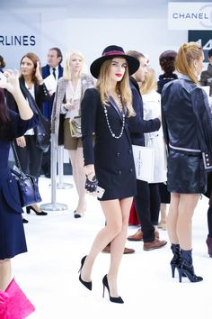 Chanel Fashion Show Ready to Wear Collection Spring Summer 2016 in Paris #ChanelAirlines