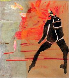 Teresa Pagowska - Negro Spirituals II, 1988 Rachel Whiteread, Spirituality, Painting, Art, Art Background, Painting Art, Kunst, Spiritual, Paintings