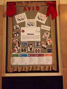 AVID Bulletin Board