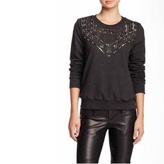 🆕 REBECCA MINKOFF Sweater Top Measurement details available in the photos.  Ask all your questions before purchasing. Perfect sweater for the perfect gal! Rebecca Minkoff Sweaters
