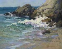 Resultado de imagen para como pintar la espuma de mar en la orilla