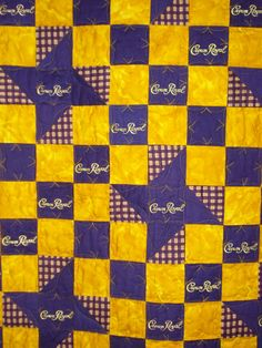 crown royal quilt – Quilt With Us