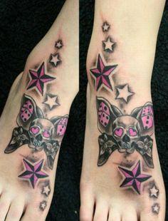 Star tattoos 2