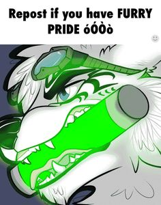 Furry pride!!! Wag your tails, fellow furries!!!