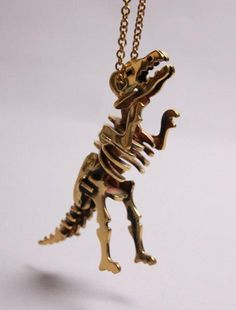 T-Rex Pendant | 100% Brass by YourEyesLie, £34.00