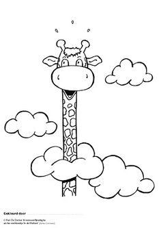 Banco de Fotos gratis: Jirafa tan alta que alcanza las nubes