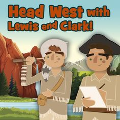 Full color, vibrant living books, amazing student journaling and engaging activities! Head West with Lewis & Clark in our NEW American Story 1 program for K - 7th graders!