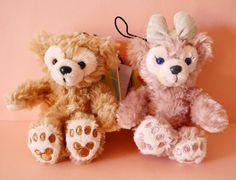 New Tokyo Disney Sea Duffy ShellieMay Bear shellie plush chain strap Japan #Disney