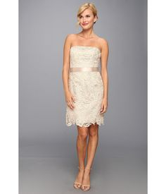 Make a stylish statement in this stunning Adrianna Papell™ dress.. Luxurious lace constructs this ...