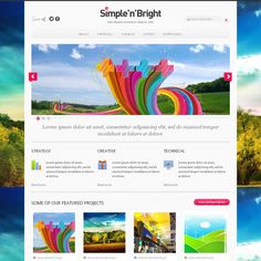 Simple'n'Bright is free colorful and elegant WordPress theme. This is a theme that is perfect for all kind of portfolio and blog websites, but it will work great as a business and corporate site as well. Simple'n'Bright is a stylish theme, packed with great features so you can easily customize and tweak the theme for best results. Your portfolios and content on your blog will appear in an attractive way that your visitors or customers will surely like.