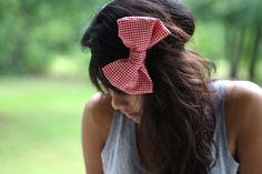 Love big bows.
