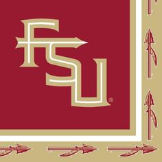 (240/case) Florida State Univ Lunch Napkins, 2-Ply