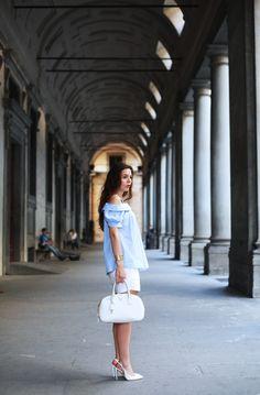 La galleria degli Uffizi ed un drink Disaronno a Ponte Vecchio