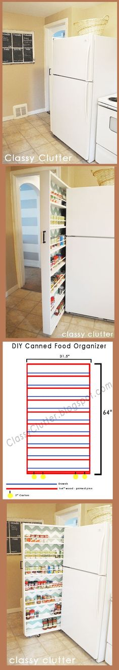 DIY Ideas For Storage Hanging Around The House 5