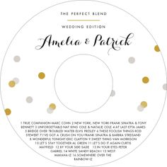 Create personalized Champagne Cd Labels to add a special touch. guarantee on Custom Cd/Dvd Labels! Cd Labels, Circle Labels, Gift Labels, Wedding Cd, Label Shapes, Dry Erase Markers, Champagne, Lilac, Purple
