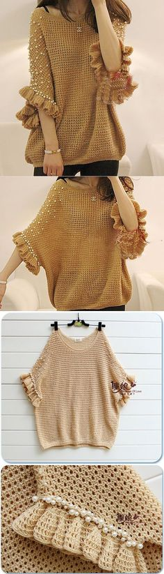 poncho de tricot