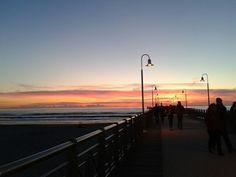 Sunset in marina di Pietrasanta!