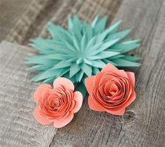 101 best paper flowers images on pinterest in 2018 paper flowers paper flowers embellish cakes cards and more with these easy to make mightylinksfo